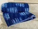 Blue Cotton Kantha Bed Covers