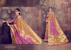 YNF Anumol Series 29194-29199 Stylish Party Wear Cotton Linen Silk Saree