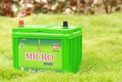 Micro MB800 12 V 80 Ah Automotive Batteries, Warranty: 18+18 Pro-rated Warranty, Weight: 21Kgs