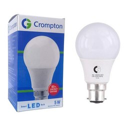 Round Cool daylight 5W Crompton LED Bulb