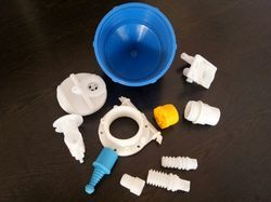 Threaded Plastic Moulded Components