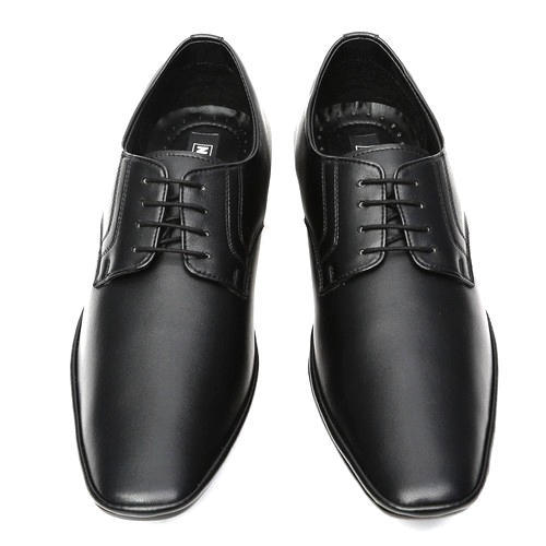 f89683e43c2 Mens Black Formal Shoes at Rs 350  pair