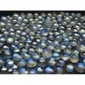 Blue Flash Moonstone Round Cabochons