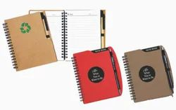 A6 Ecoline Recycle Notebook and A6 Executive Notebook