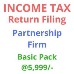 Income Tax Return Filing Partnership Firm