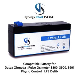 8 Volts 3.2Ah SLA Medical Battery