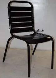 Handicraft Point Black Cast Iron Chair for Restaurant