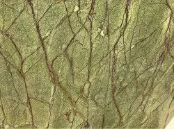 Rainforest Green Marble, Thickness: 15-20 Mm