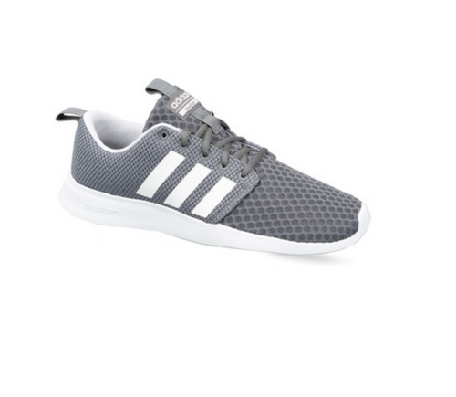 so cheap discount shop crazy price Adidas Mens Grey Sport Inspired Cloudfoam Swift Racer Shoes ...