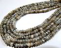 Mystic Coated Gray Moonstone Beads