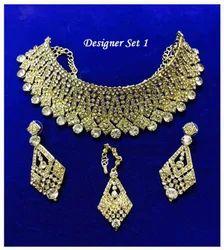 Designer Copper Shade Necklace Set