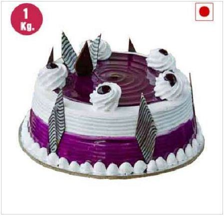 Sensational Black Current Cake Birthday Cakes In Kanpur Flower And Cake Funny Birthday Cards Online Overcheapnameinfo