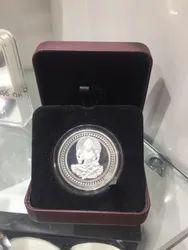 Antique Laxmi Silver Coin