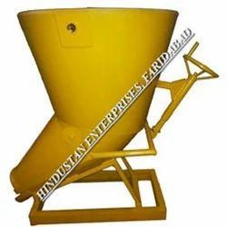 Screw Jack Type Banana Concrete Bucket