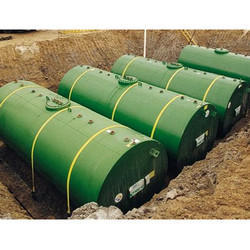 Horizontal Fuel Storage Tank