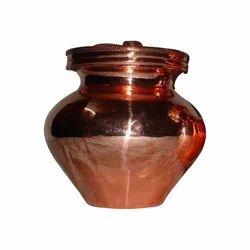 Mirrored Copper Ganga Jal Lota