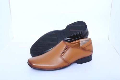 Men Brown Genuine Leather Formal Shoe, Size: 5 to 12