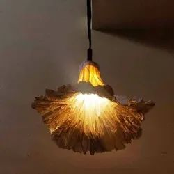 Brass Handmade Ceiling Lamp, for Decoration