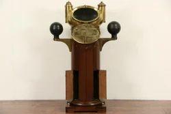 Antique Nautical Binnacle Ship Compass
