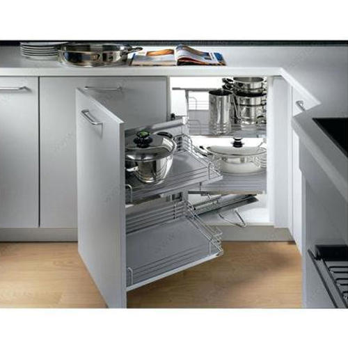 Modern Stainless Steel Idea Magic Modular Kitchen Cabinets