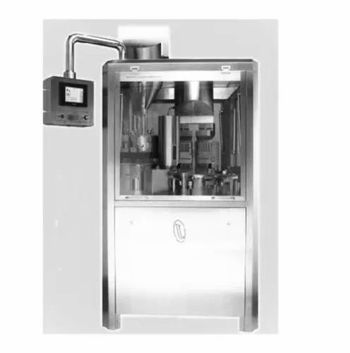 Tamper Proof Automatic Capsule Filling Machine, Capacity: 40,000 Caps/Per Hr., for Pharmaceutical Industry
