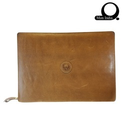High Quality Leather Laptop Case(brown), Packaging Type: 20 Ft. Container