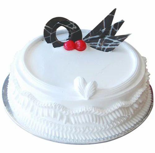 Enjoyable Regular Cakes Vanilla Birthday Cake In Parthasarathy Funny Birthday Cards Online Overcheapnameinfo