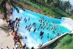 Multicolor FRP Amusement Park & Water Park Equipment