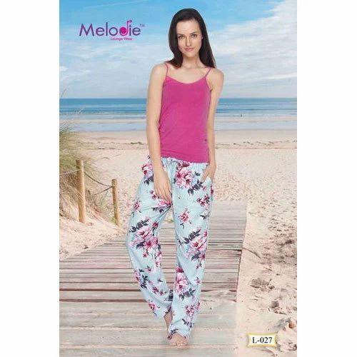 Women Floral Print Pyjama