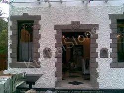 Decorative Hotel Stone Enterance, 125-150 Mm, Size: Variable