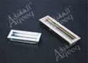 Zinc Concealed Handle, For Cabinet, Size: 96mm, 128mm, 160mm, 224mm