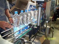 Filling Machine for Plastic Glass