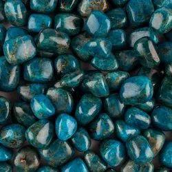 Natural Neon Apatite Tumbles Gemstones