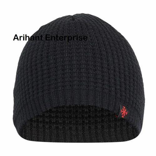 c71d79cb6ad Arihant SBB Brown Acrylic Woolen Cap