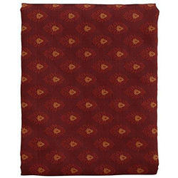 Cotton Red Fancy Printed Fabric