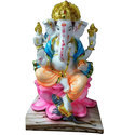 Lotus Flower Ganesh Statue