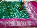 Chinya Silk Meenakari Designer Saree With Blouse