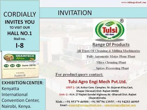 Tulsi Agro Engi Mech Private Limited - Manufacturer from