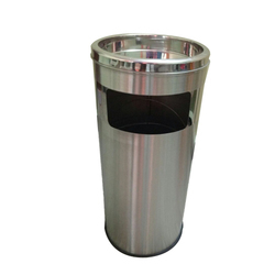 Small Steel Single Dustbin