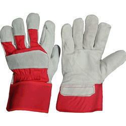 Split Leather Hand Gloves