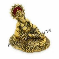 Golden Plated Masand Ganesh