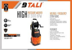 Btali High Pressure Washer