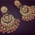Various Chandbali Bridal Kundan Earrings