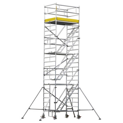 aluminum mobile scaffolding at rs 1500   feet