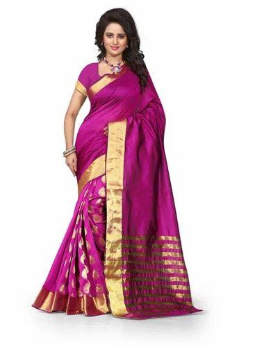 6c8eeb1da2 Cotton Silk Saree With Blouse Piece, Rs 350 /piece, Blissta Clothing ...