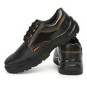 Acme Atom Steel Toe Black Safety Shoes