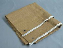 Vermiculite Coated Ceramic Fiber Cloth