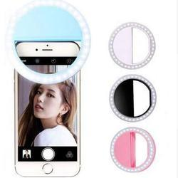 Auslese LED Ring Light Selfie for iPhone Android and iPad