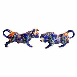 Metal Decorative Bull