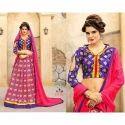 Ladies Jacquard Silk Printed Lehenga, Size: S, M & L